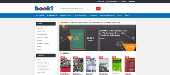 Booki: novo portal da Publindústria para o comércio de livros técnicos