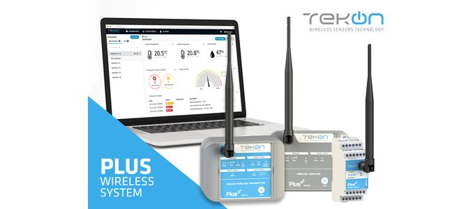 Solução wireless da Tekon Electronics para monitorização de múltiplos sensores