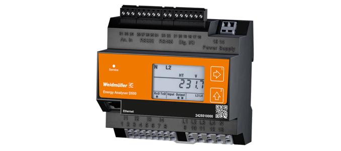 Weidmüller: componentes de monitorização de energia