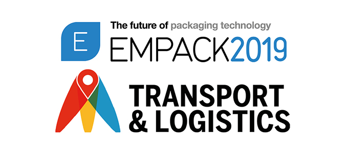 Empack and Transport & Logistics a 18 e 19 de setembro na EXPONOR