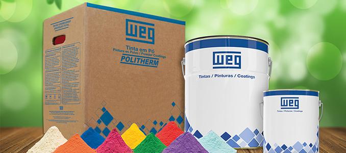 WEG destaca-se pela sua linha de tintas sustentáveis