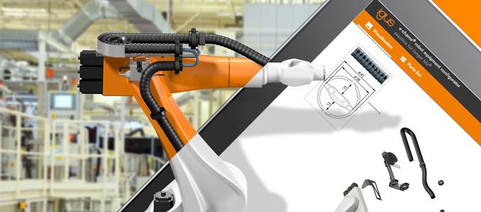 igus: encontre online o sistema de fornecimento de energia para 400 tipos de robots