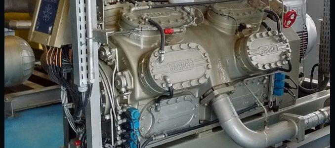 Aplicação de indicador de disponibilidade de compressores do sistema de refrigeração de uma fábrica de hemoderivados