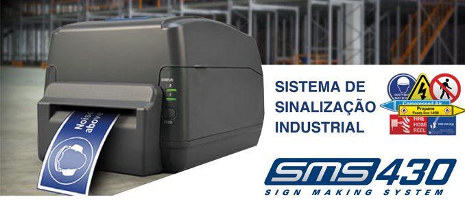 Labeltronix e a Rebo Systems lançam sistema de produção de sinalética SMS 430