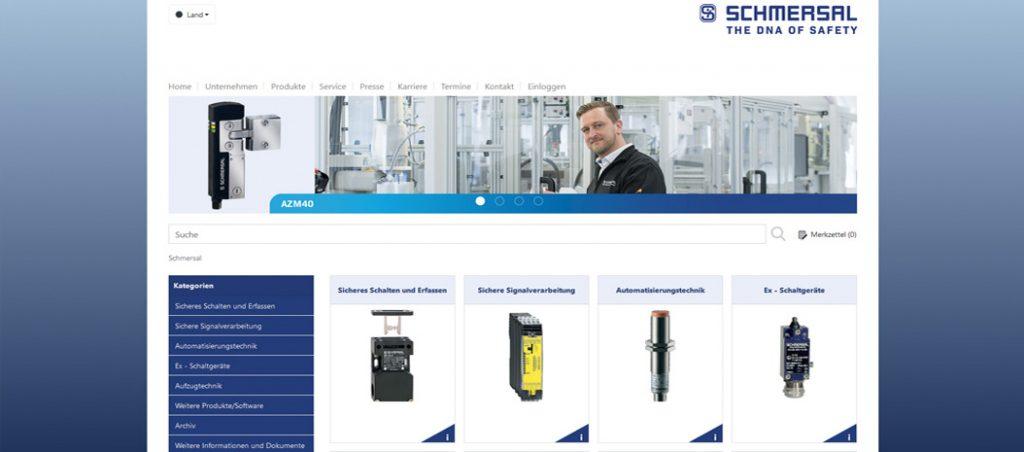 Disponível o novo catálogo online da Schmersal