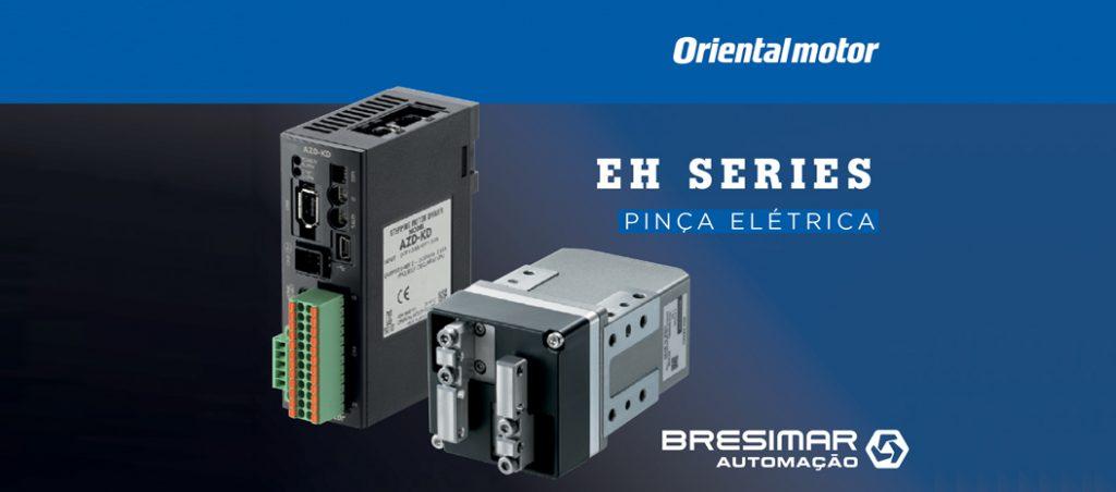 Bresimar Automação: novo gripper elétrico série EH da Oriental Motor mostra robustez e fiabilidade