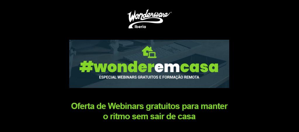 Wonderware Iberia oferece webinars gratuitos para manter o ritmo sem sair de casa