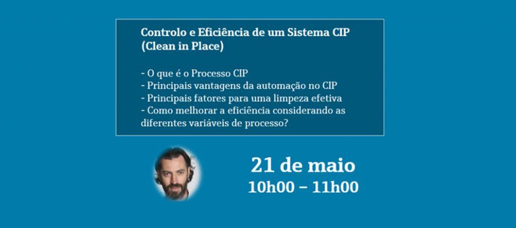 Webinar gratuito sobre Controlo e Eficiência de um Processo CIP da Endress+Hauser