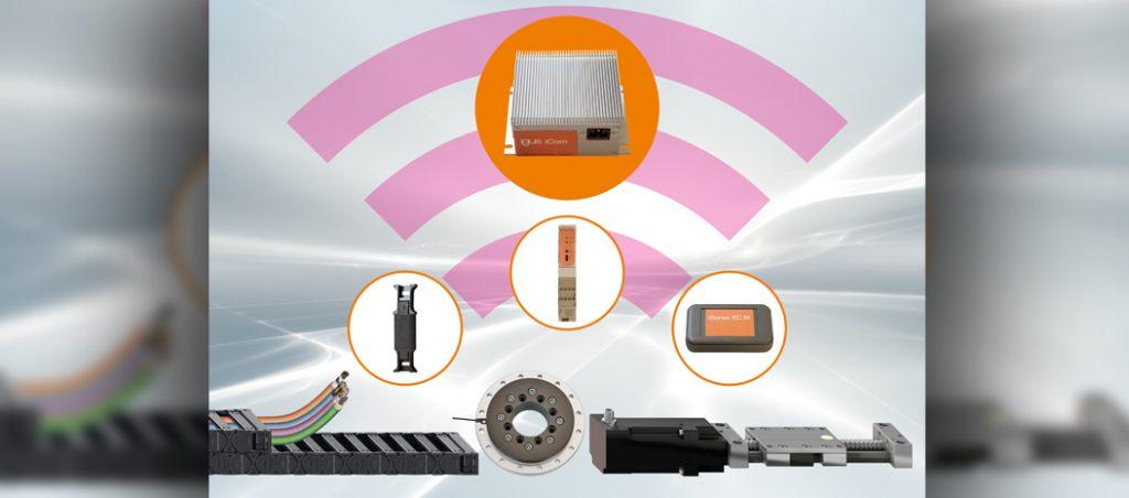 Aumente a segurança das máquinas e reduza os custos de manutenção com os smart plastics da igus