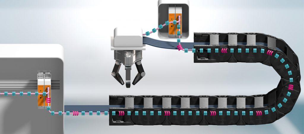 igus: o primeiro cabo bus inteligente para uma automação fiável
