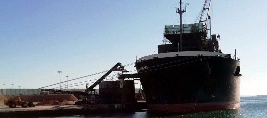 Trabalhos em navios, um novo serviço da Juncor