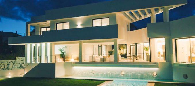 Há uma villa 100% conectada em Marbelha graças a soluções Schneider Electric