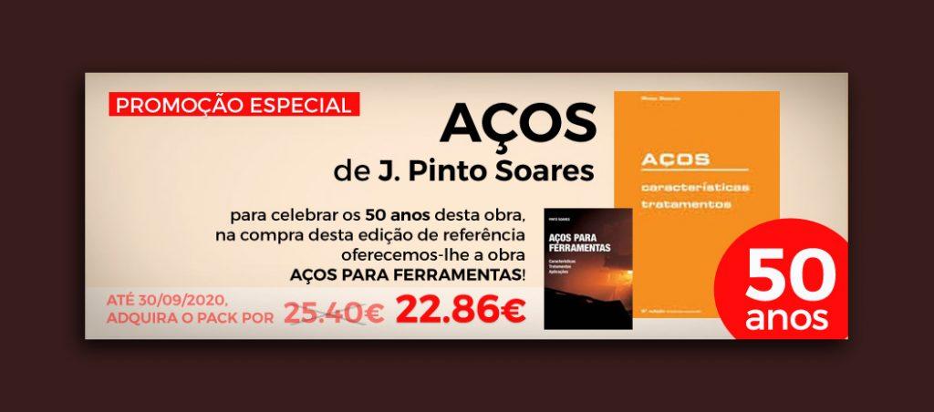 """Booki assinala 50 anos da obra """"AÇOS"""" com promoção especial"""