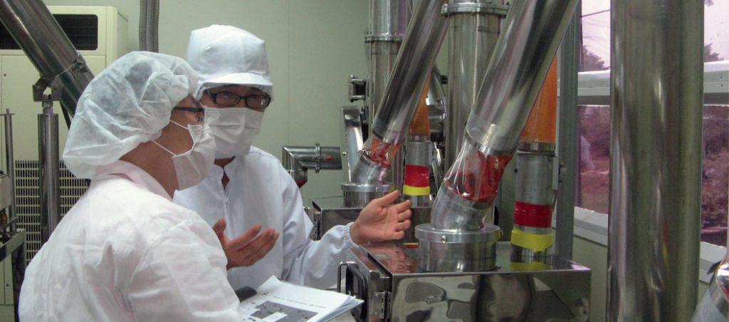 Manutenção na indústria alimentar