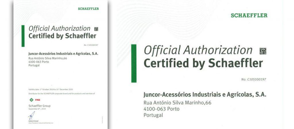 JUNCOR: distribuidor certificado Schaeffler