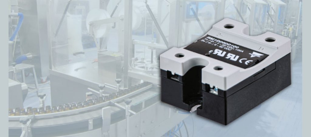 Série RM1D: relés estáticos para comutação CC