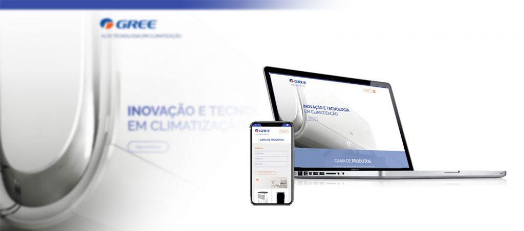 Gree lança novo website em Portugal