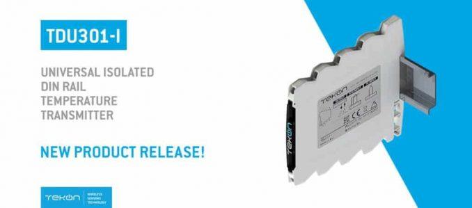 Tekon Electronics lançou um novo transmissor de temperatura