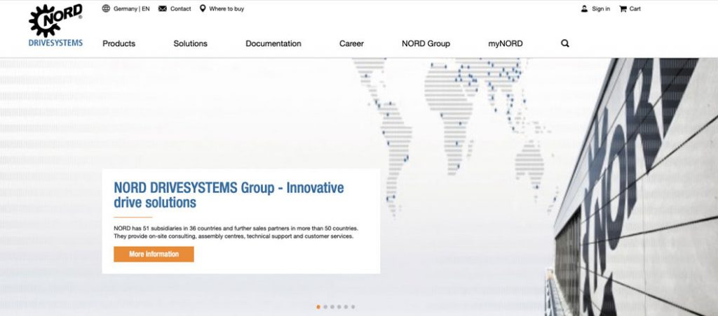 website da NORD