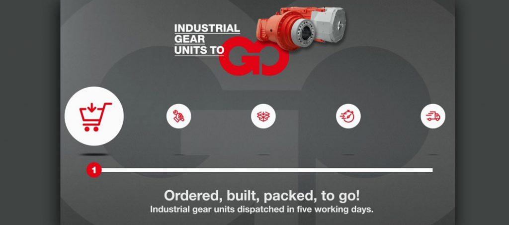 Redutores Industriais Séries X e P: prazo de entrega de 5 dias úteis