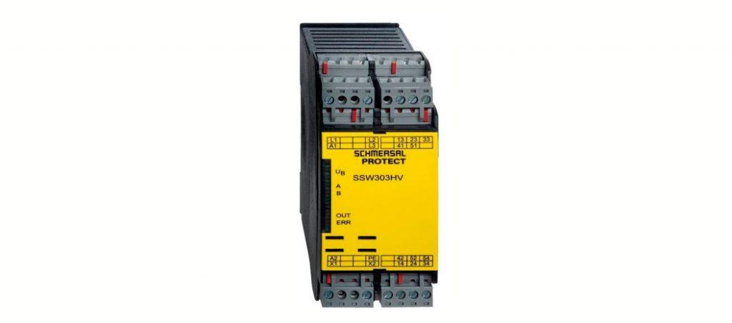 SSW303HV: novo módulo de segurança de velocidade nula sem sensores