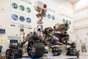 ABB fornece braçadeiras Ty-Rap para a NASA Mars Perseverance Rover