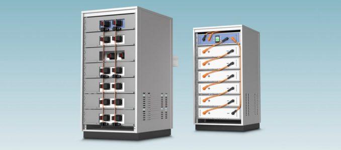 Conectores para armazenamento de energia da Phoenix Contact