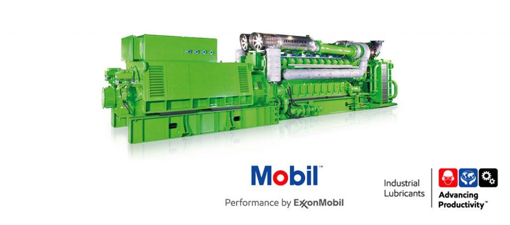 Mobil apresenta o Jenbacher N Oil 40