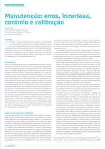 artigo manutencao calibracao