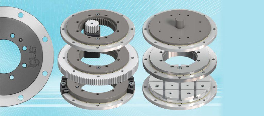 igus aumenta gama de anéis rotativos de baixo perfil
