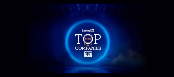 WEG está na lista LinkedIn Top Companies 2021