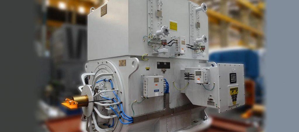 motores elétricos para a maior plataforma de petróleo e gás do Brasil