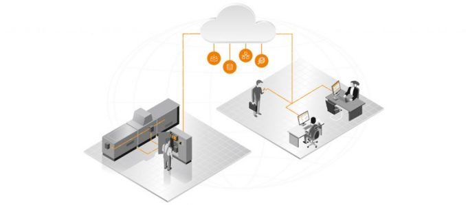 Plataforma IoT industrial para serviços baseados em dados