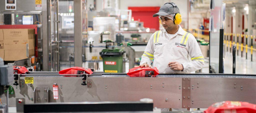 Manutenção preditiva na fábrica da Nestlé no sul do Dubai